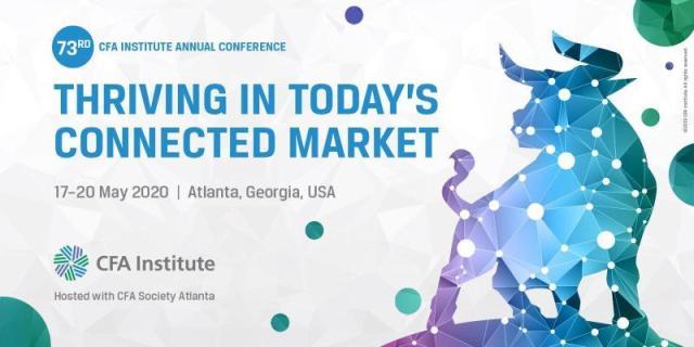 Ad for CFA INstitute Annual Conference