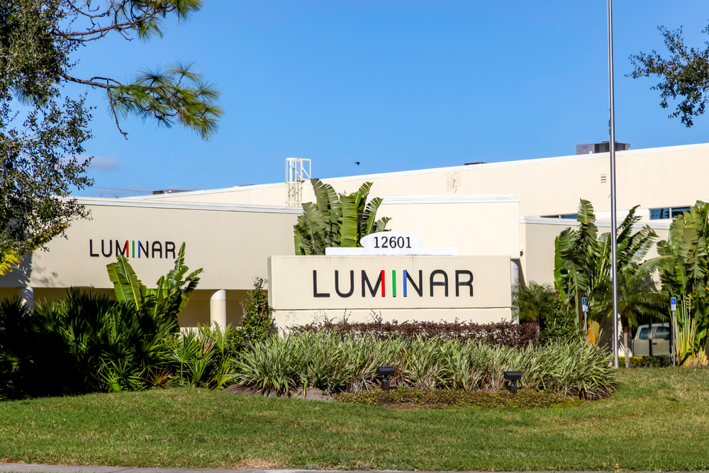 Luminar's Lidar to Become Standard in Volvo's Flagship Electric Vehicle; Shares up 7%